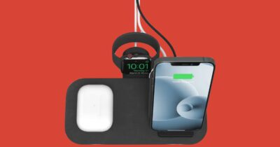 Mophie wireless charging stand+