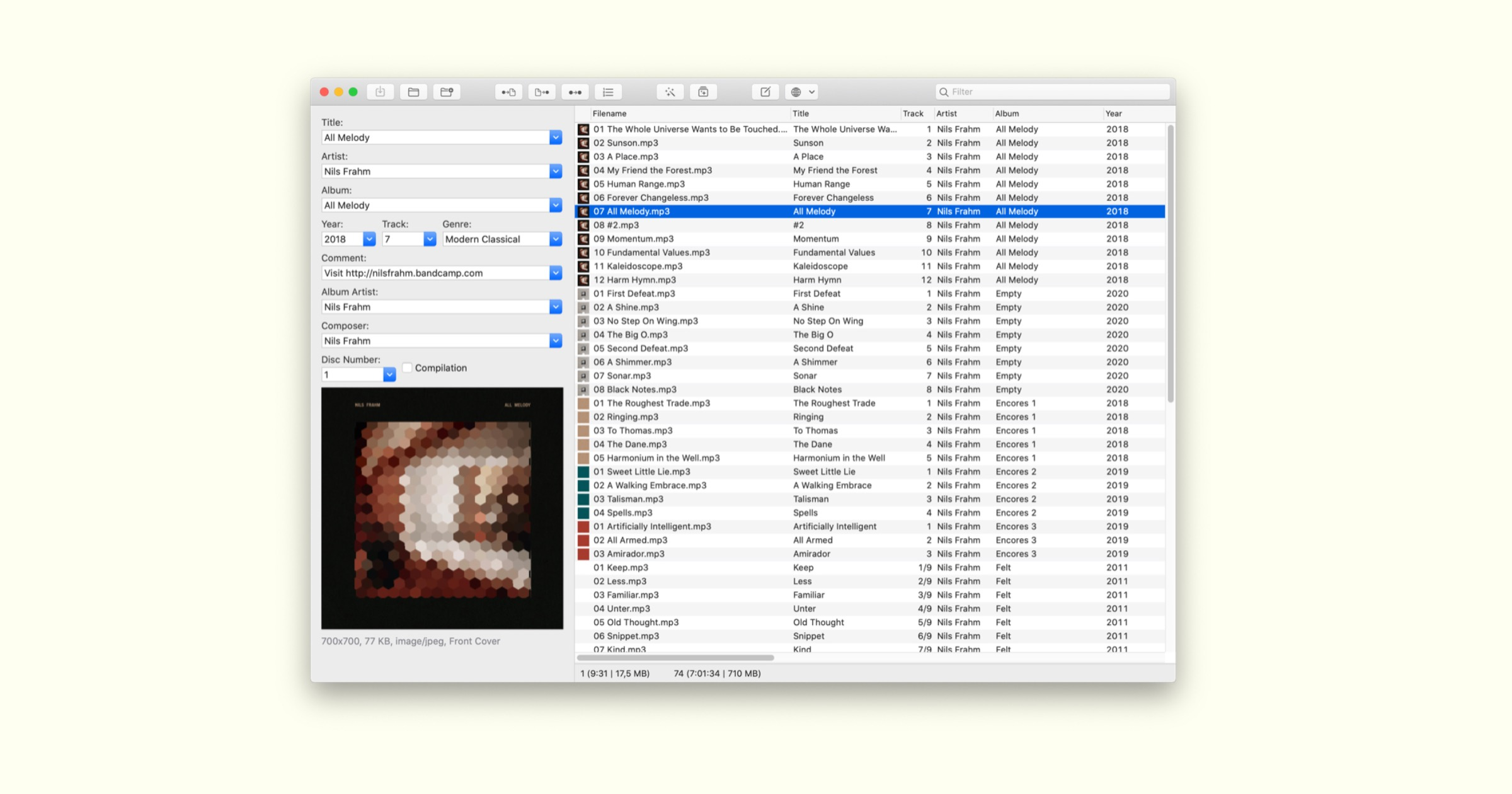 Mp3tag for mac