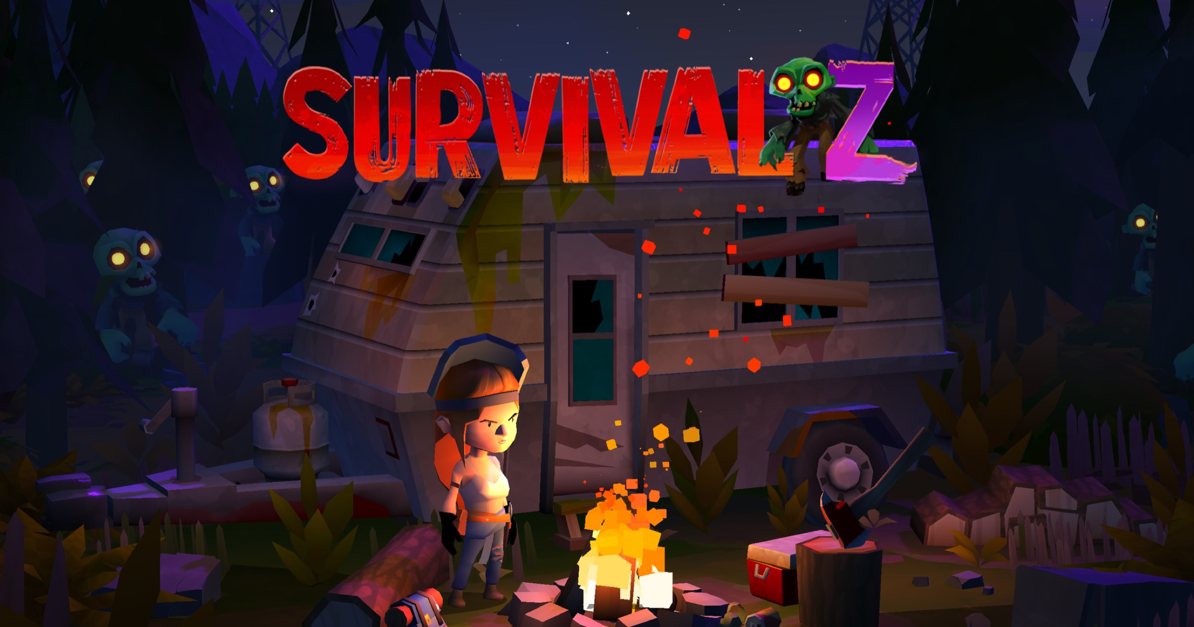 Zombie Game 'Survival Z' Launches on Apple Arcade