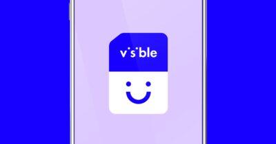 Visible eSIM on smartphone
