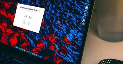 AirBuddy 2 Screenshot on MacBook