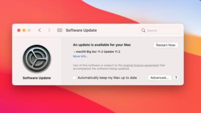 macOS Big Sur 11.2 Update