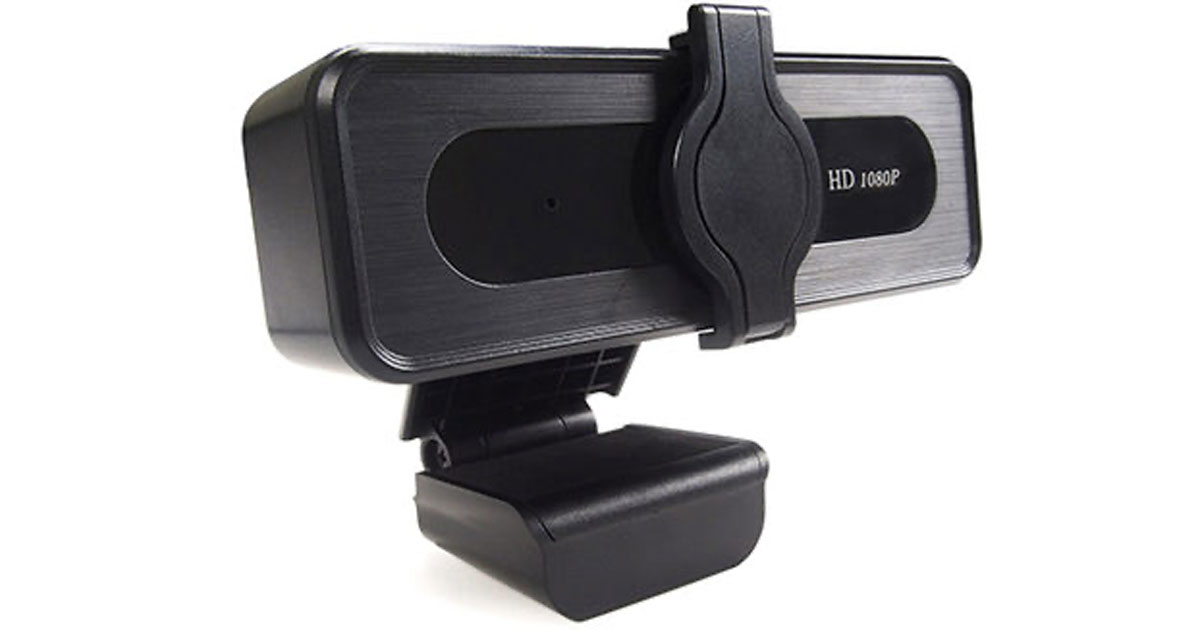 TEZL 1080P HD Webcam with Privacy Cover