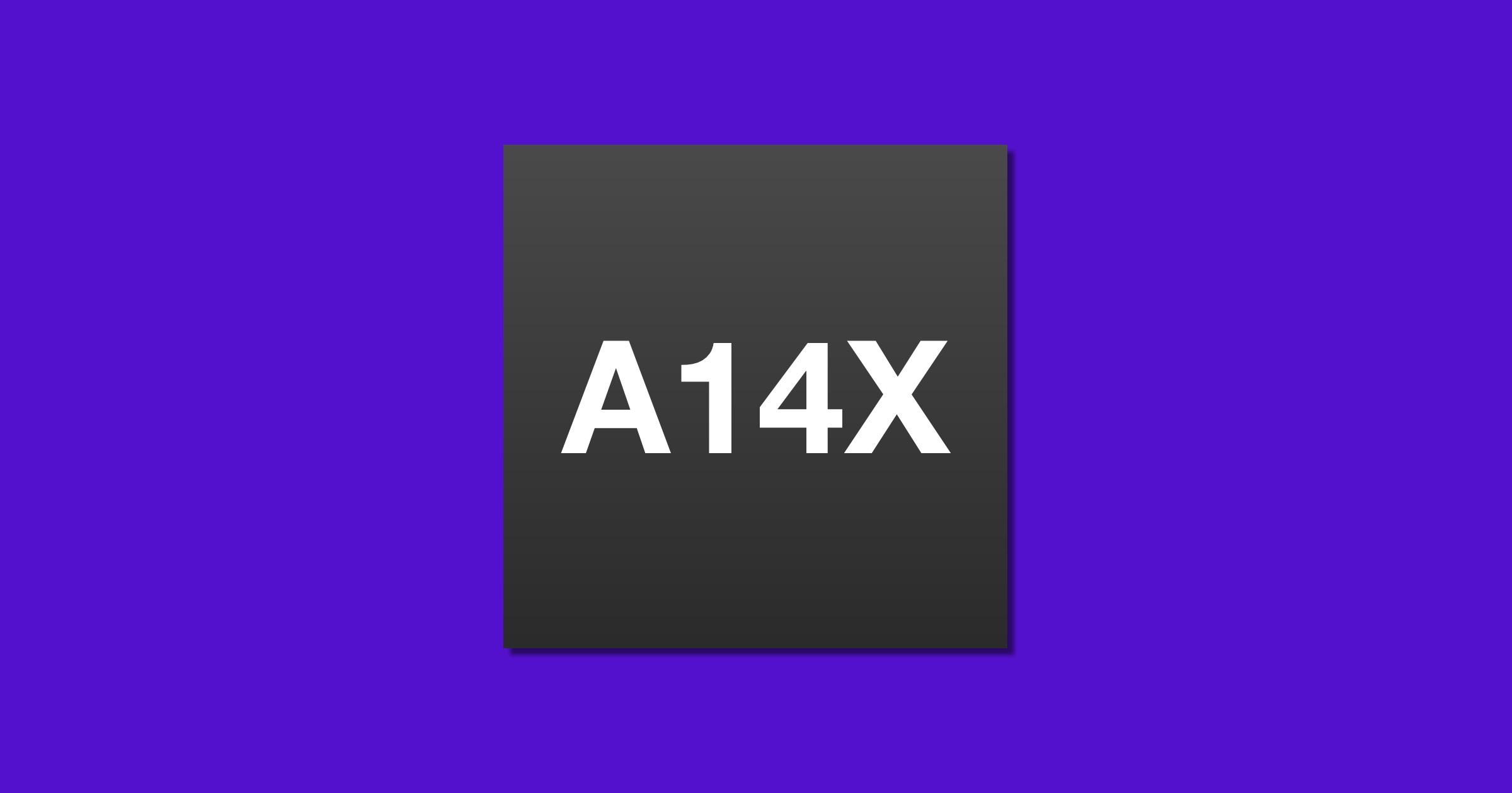 A14X chip