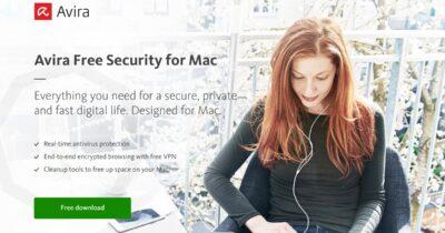 Avira security partial M1 update