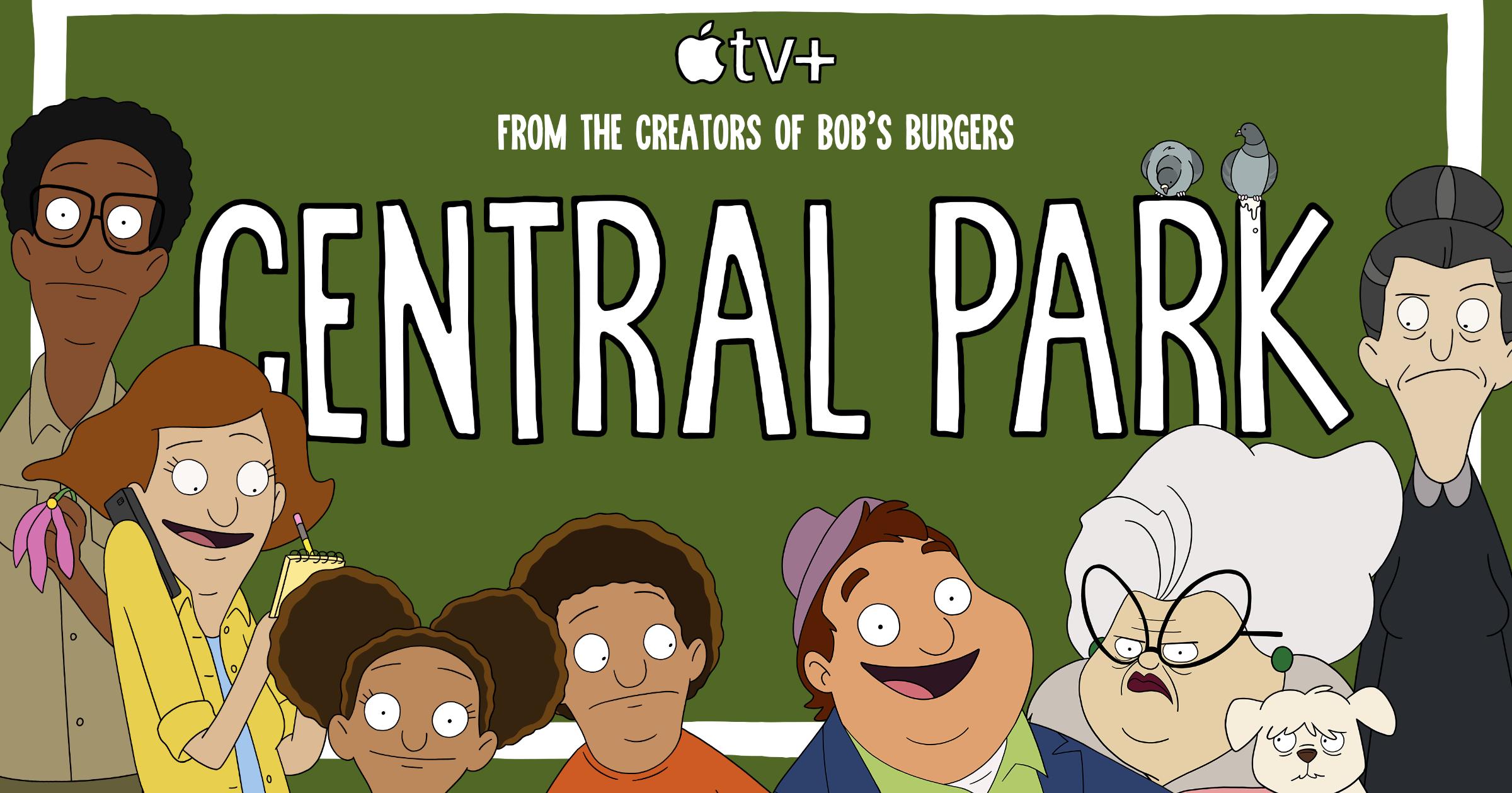 Central Park Apple TV+ key art