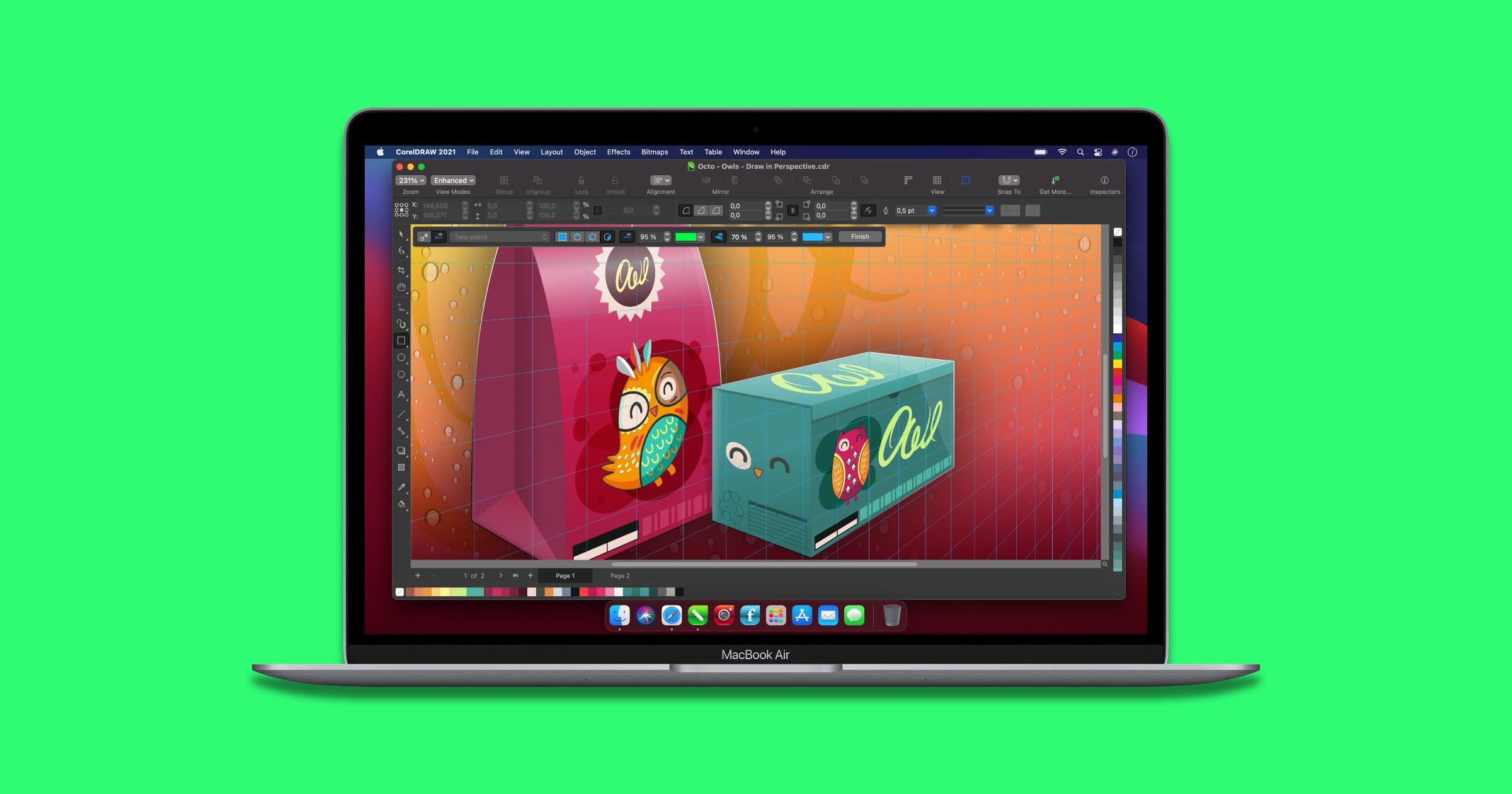 CorelDRAW Graphics Suite Adds iPad App, M1 Support