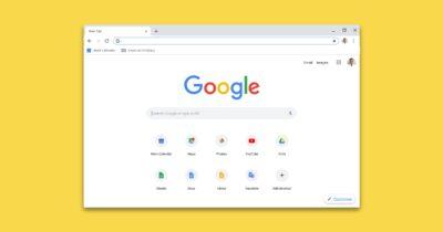 Google chrome browser window