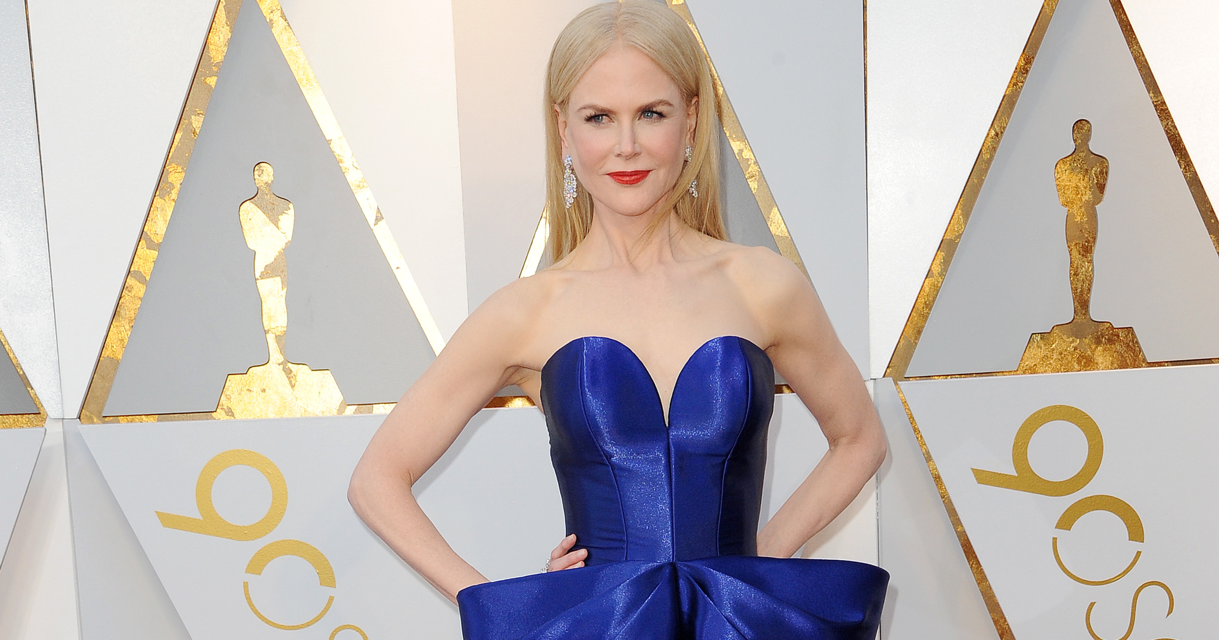 Nicole Kidman at the 90th Annual Academy Awards held at the Dolby Theatre in Hollywood