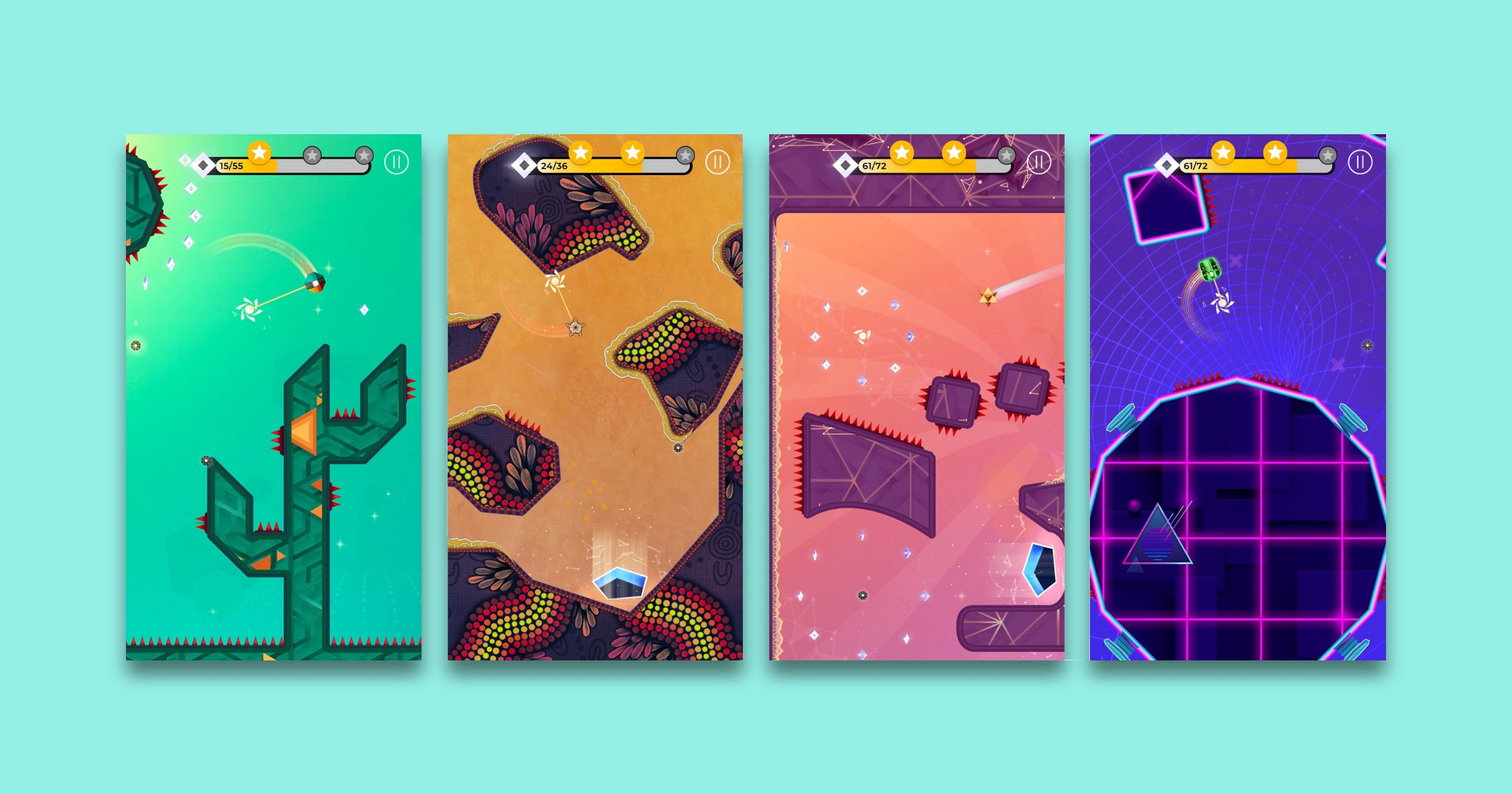 New Puzzle Game 'SP!NG' Arrives on Apple Arcade