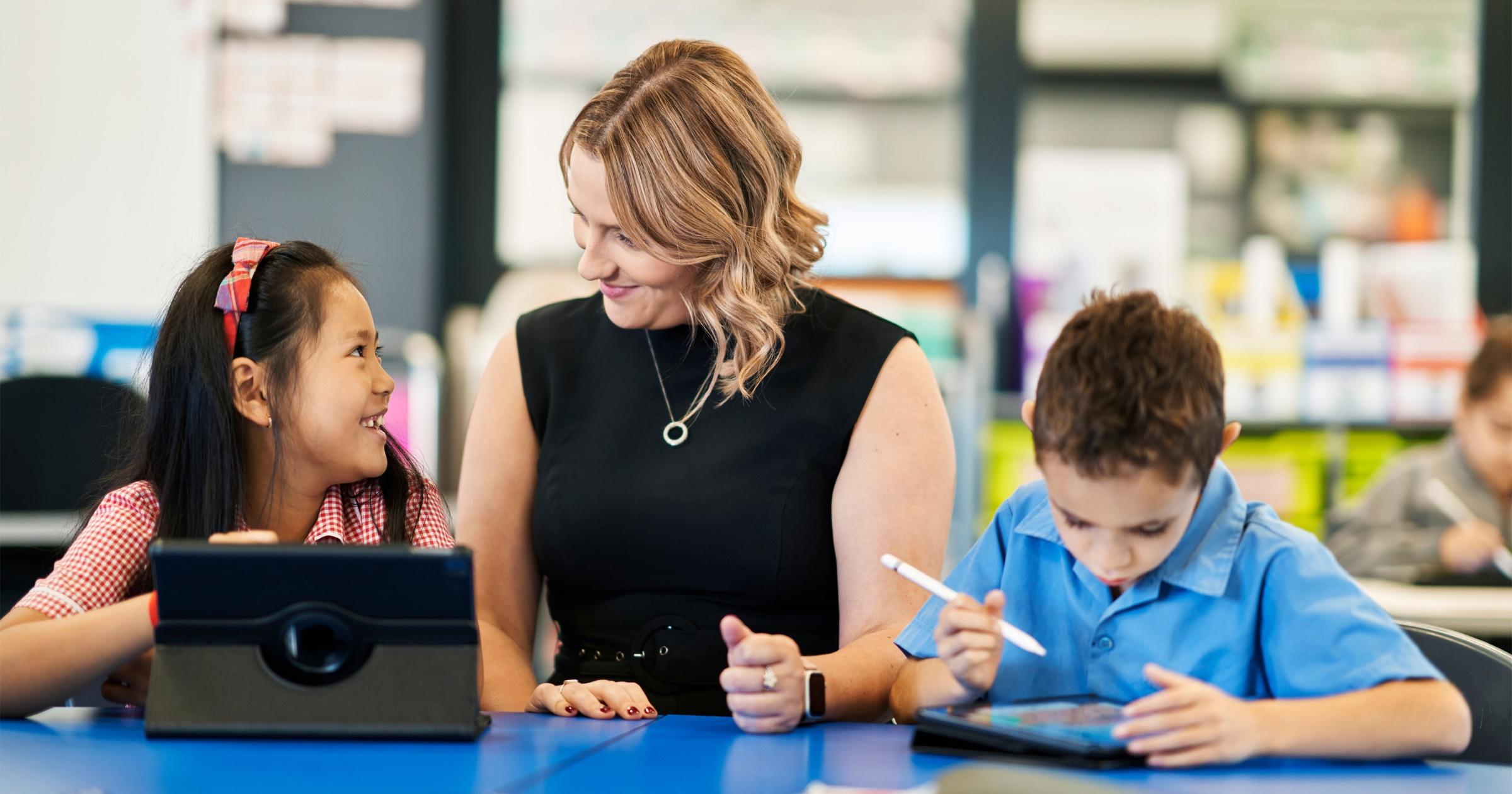 St Therese Catholic School iPad