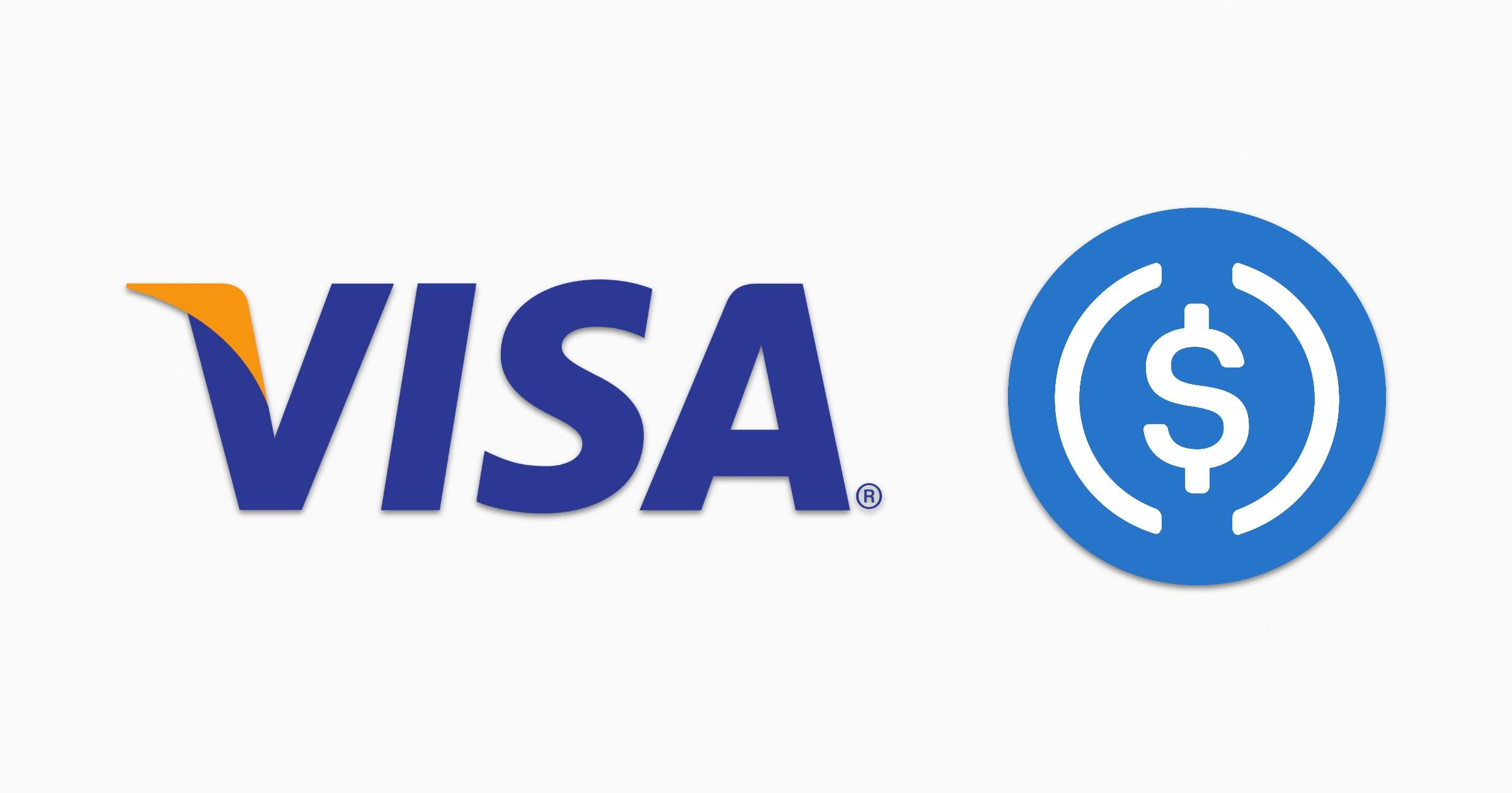 Visa plus USD coin