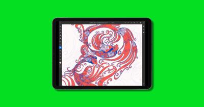 adobe mobile design bundle on iPad