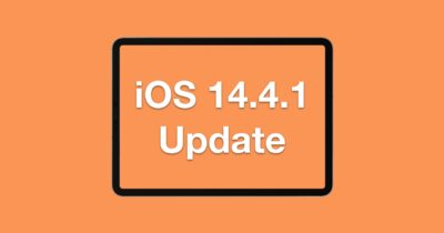 iOS 14.4.1 update