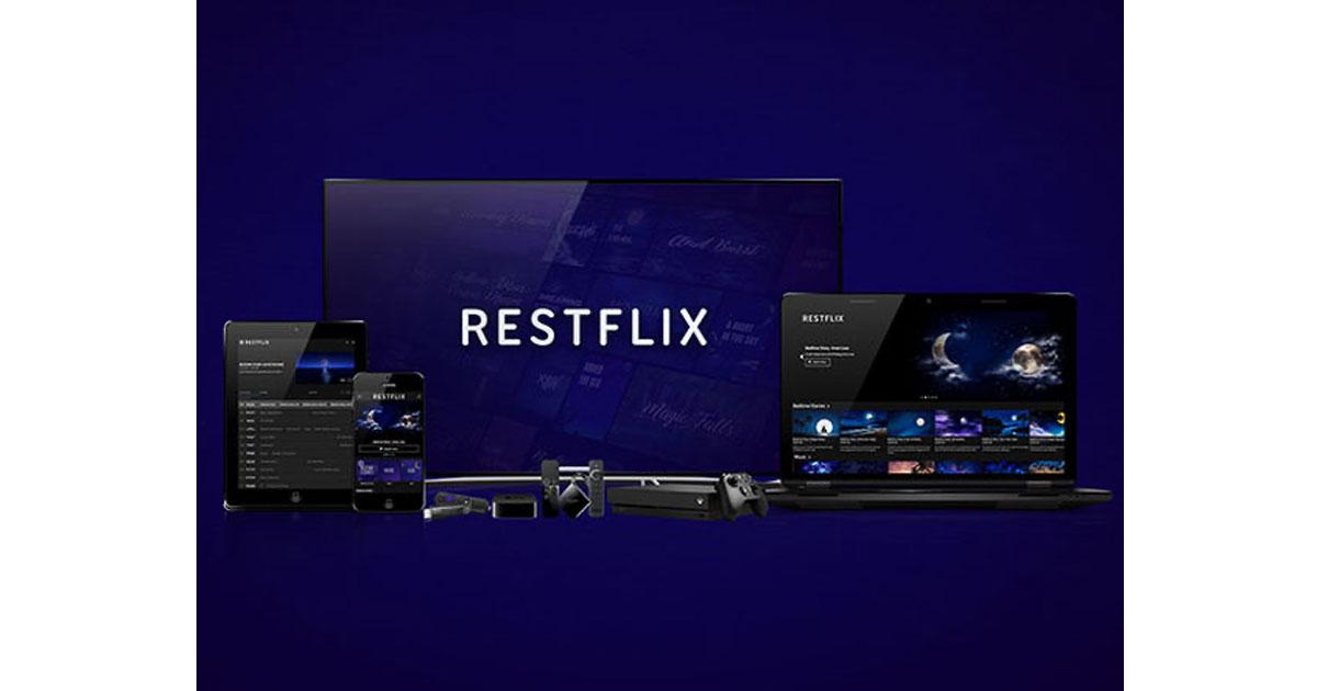 Restflix on Apple TV, iOS, Roku, Android,Fire TV