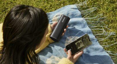 Sonos Roam Stock Photo Outdoors