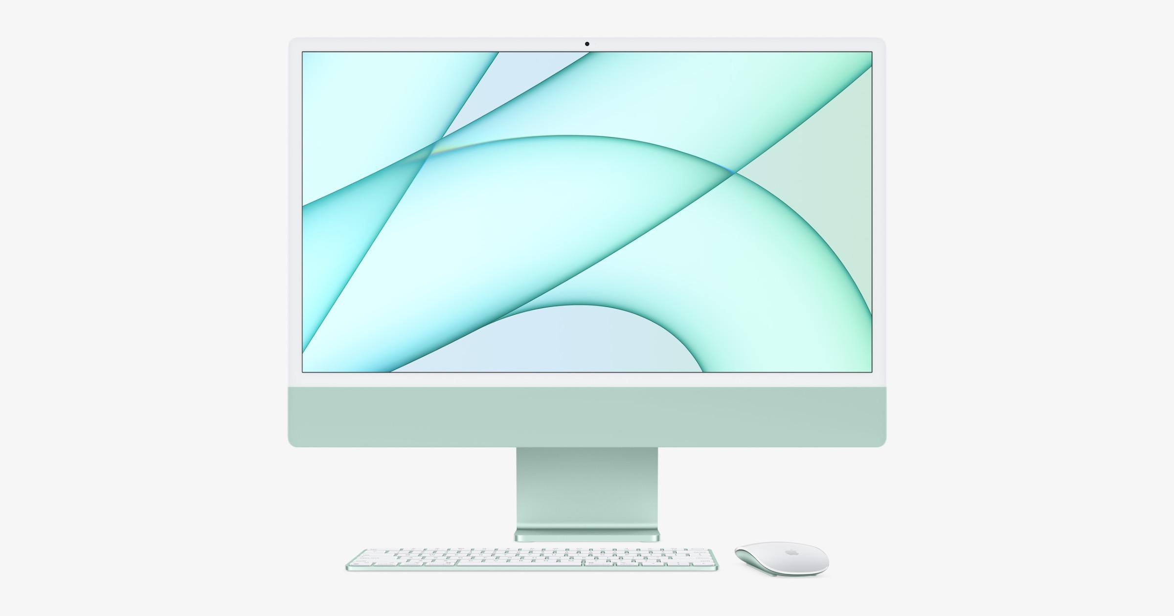 2021 green iMac