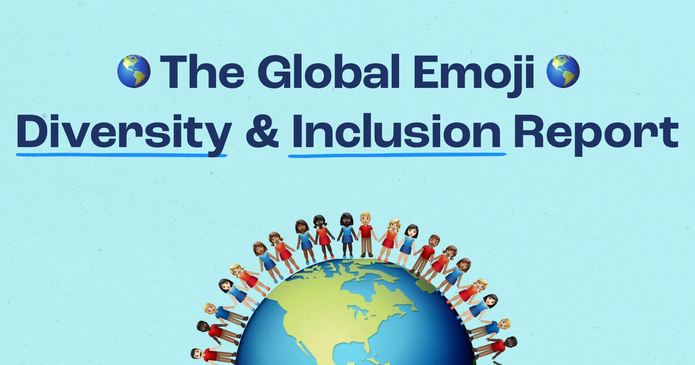 Adobe emoji diversity and inclusion report