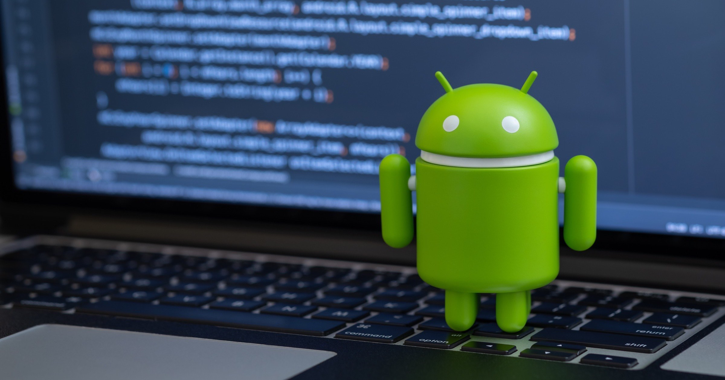 Android bot on mac keyboard