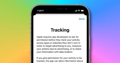 App tracking explanation in iOS 14.5