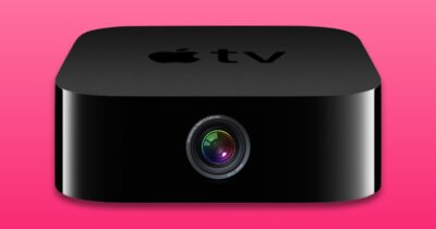Apple TV with camera