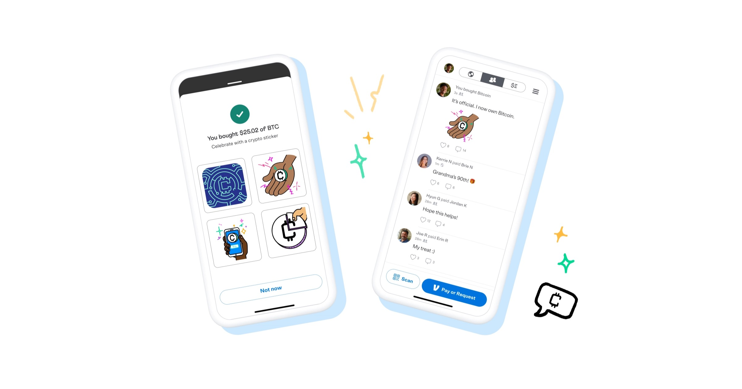 Cryptocurrency in Venmo