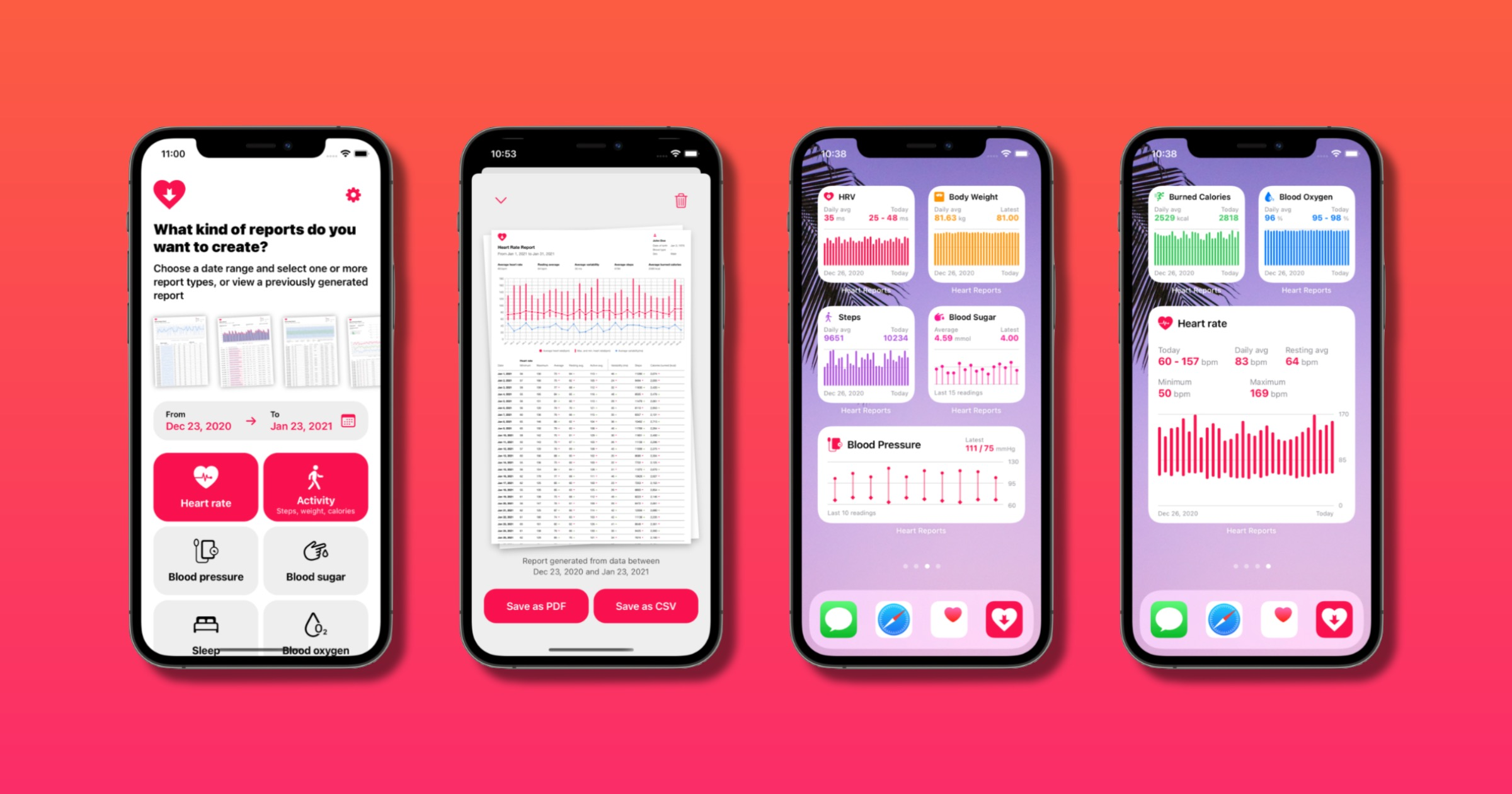 Export Apple Health Data for Your Doctor With 'Heart Reports'