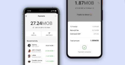 Signal payments with mobilecoin