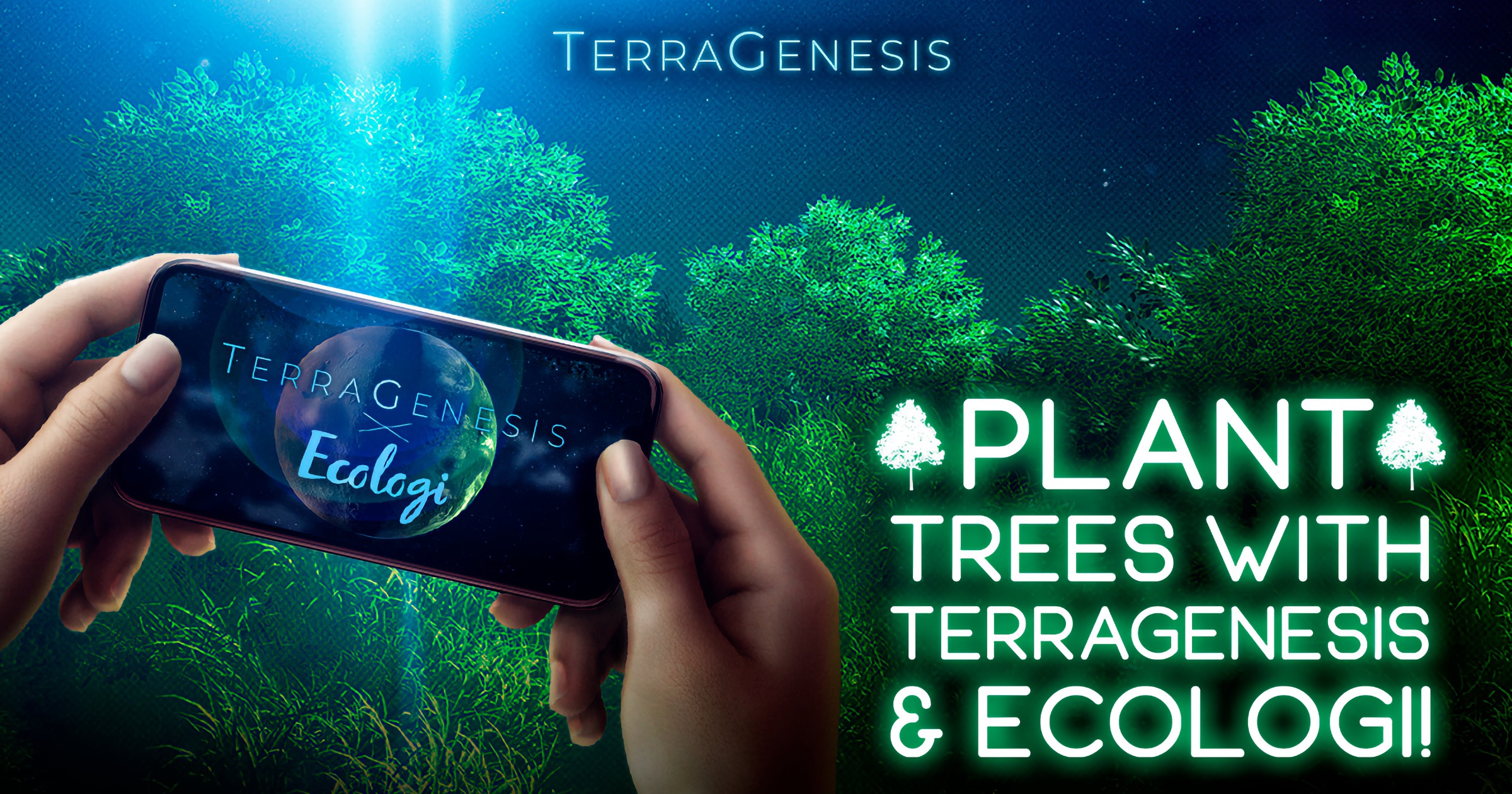 Plant Real Trees While Playing 'TerraGenesis' Space Game