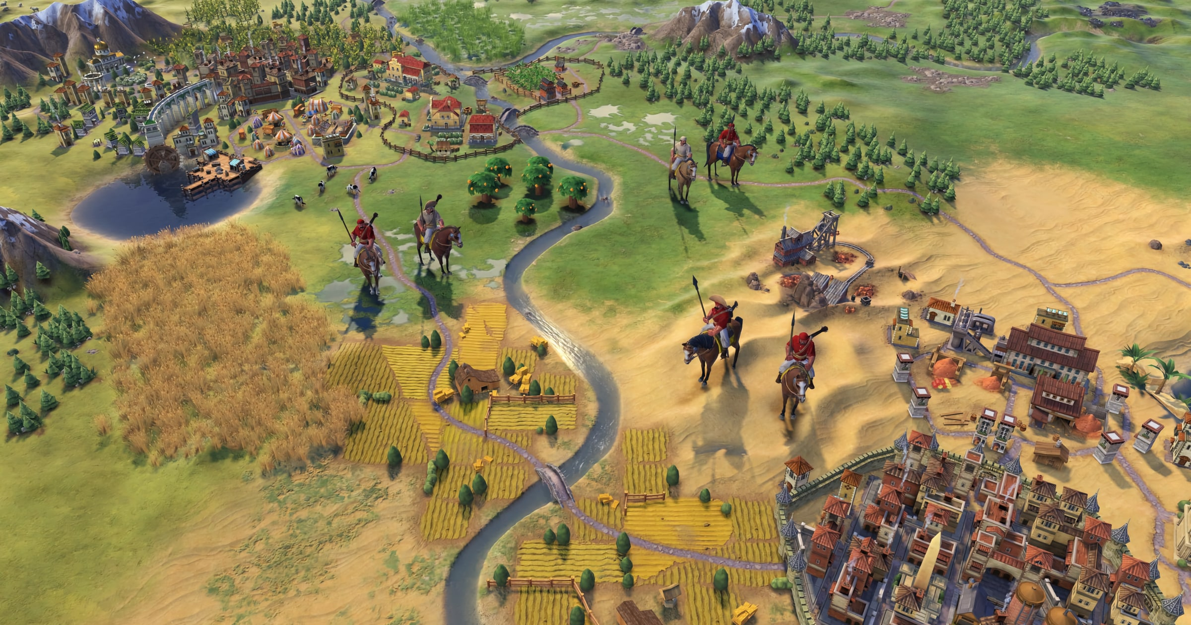 New Civilization VI Update Means Scouts Can Pet Their Dogs