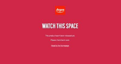 Argos Apple TV 4K not available