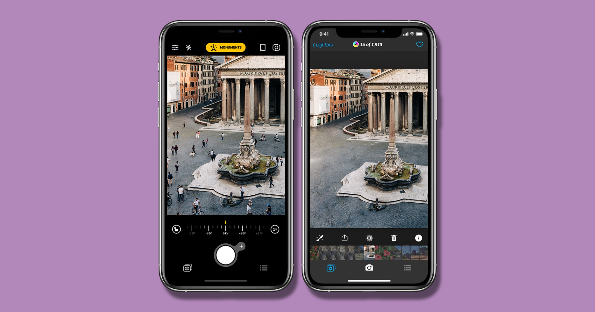 Camera+ 2 Adds AI-Powered Monuments Mode