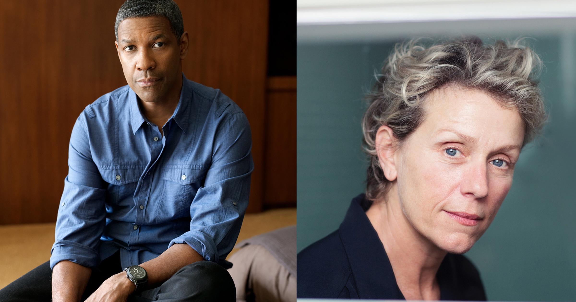 Denzel Washington Frances McDormand in Tragedy of Macbeth on Apple TV+