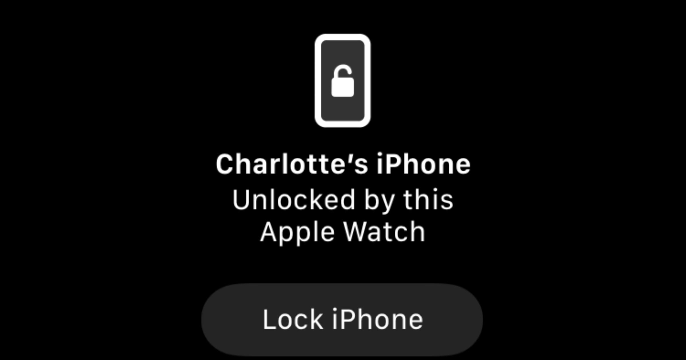 Face ID mask unlock Apple Watch