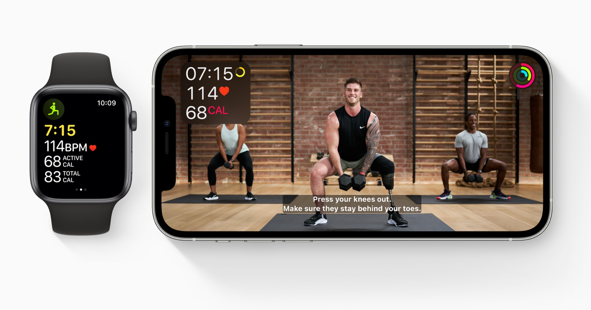 Fitness+ accessibility closed captioning
