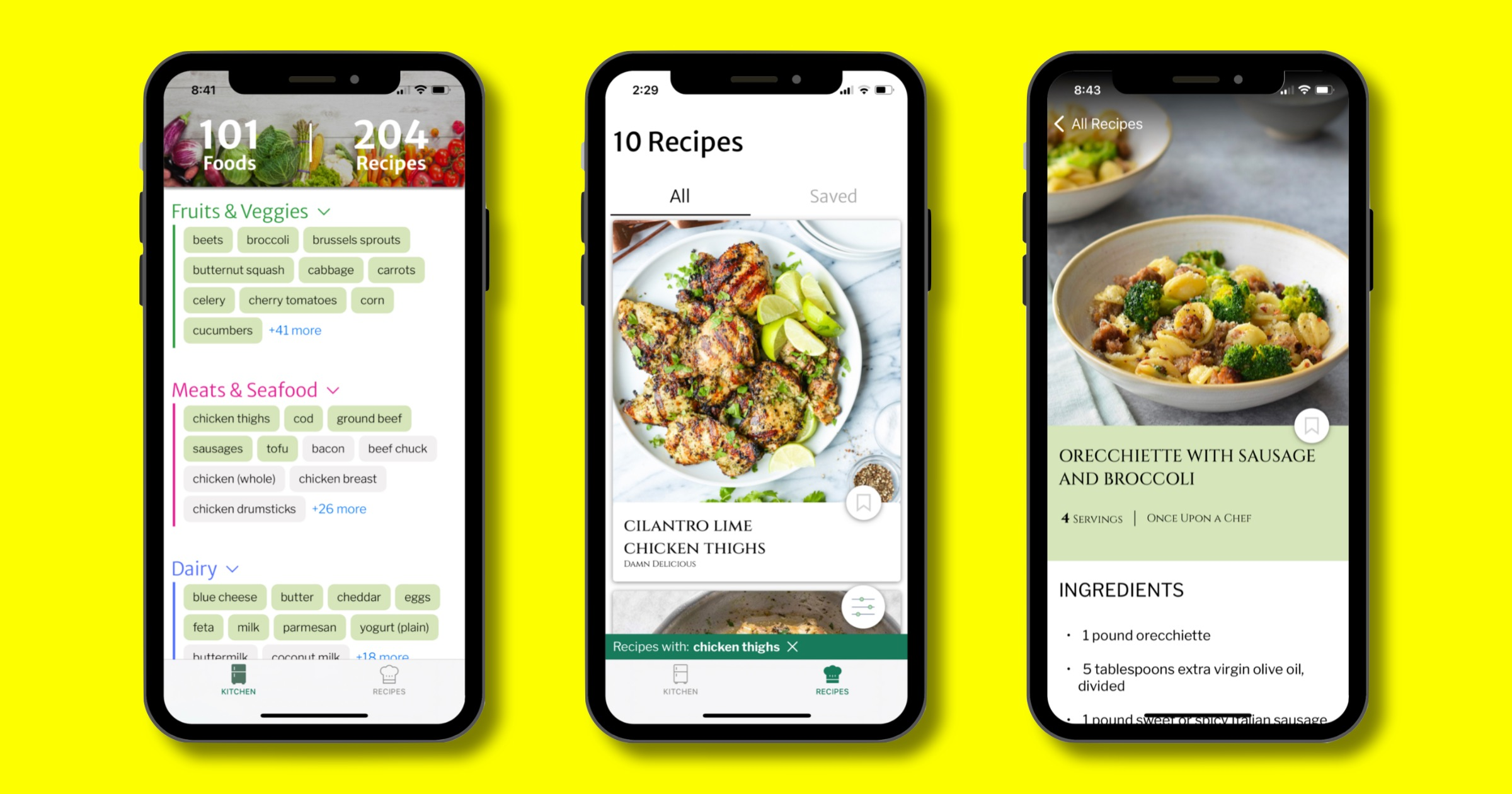 This Cooking App Gives You Recipes Based on Ingredients You Have