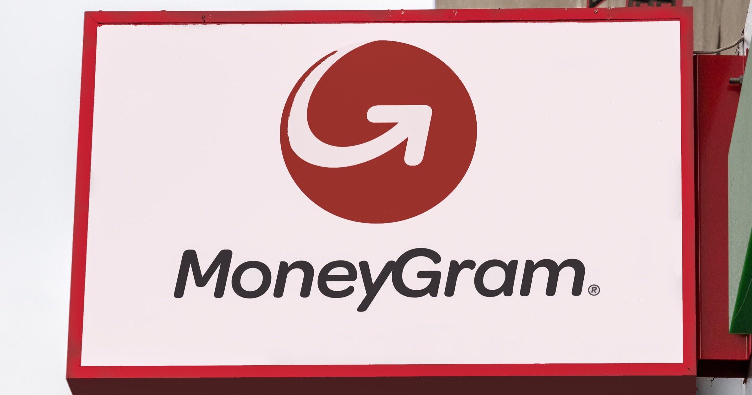 MoneyGram sign
