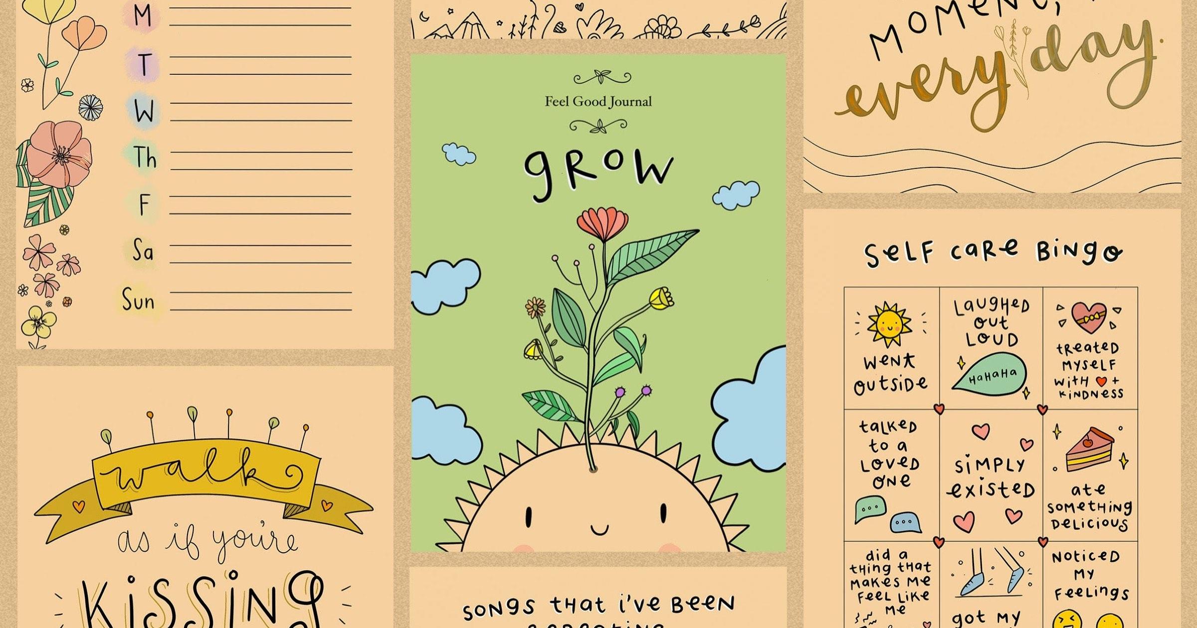 Notability Launches Feel Good Journal for Mental Health Month