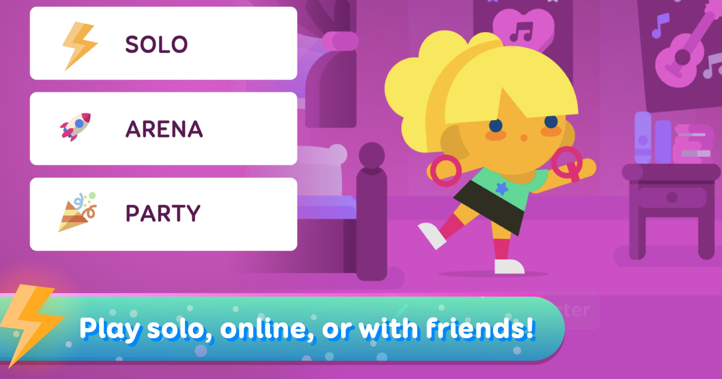 Music Game 'SongPop Party' Now on Apple Arcade