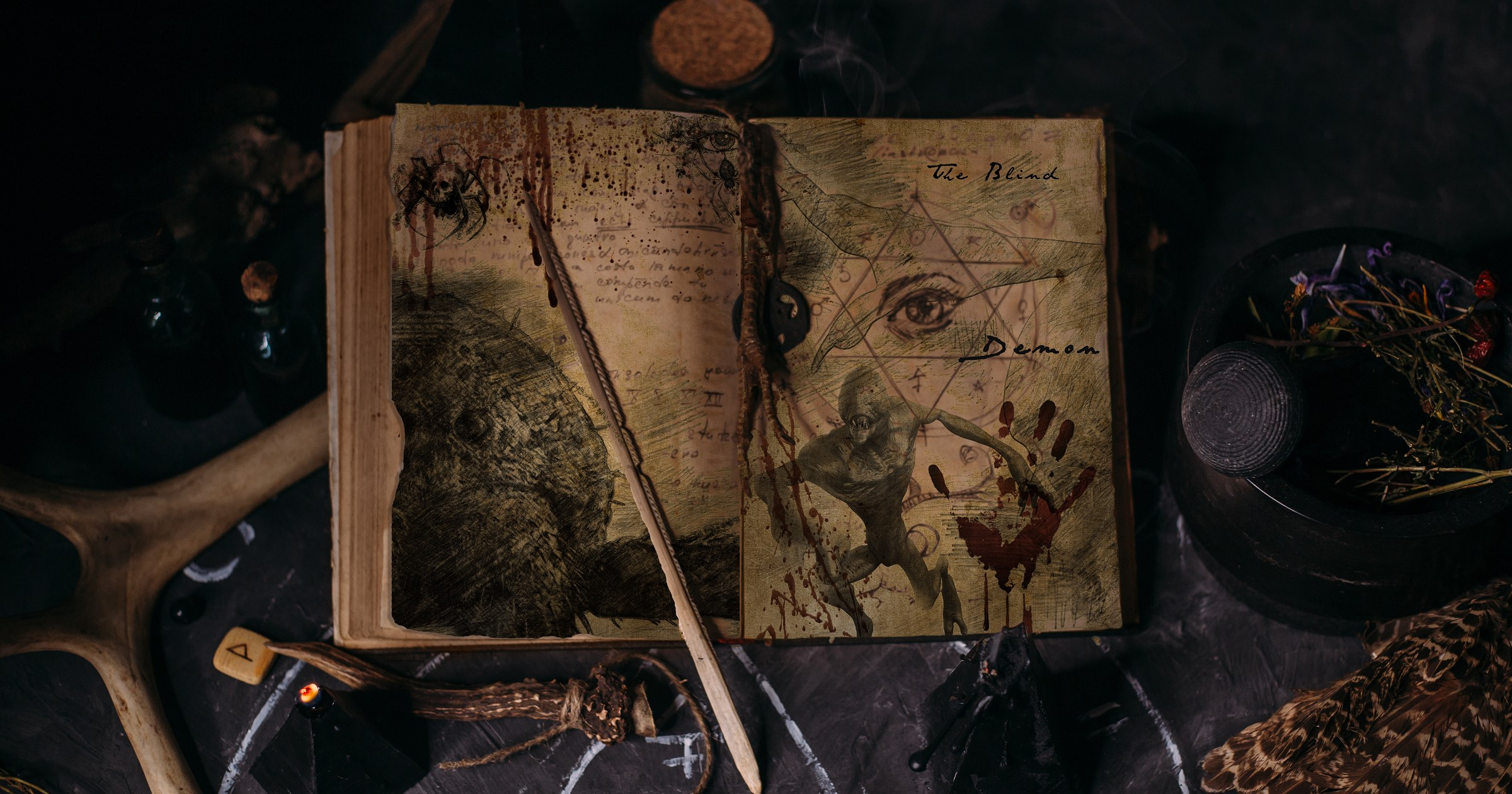 Summon the Seven Princes of Hell With 'The Book of Asmodeus'