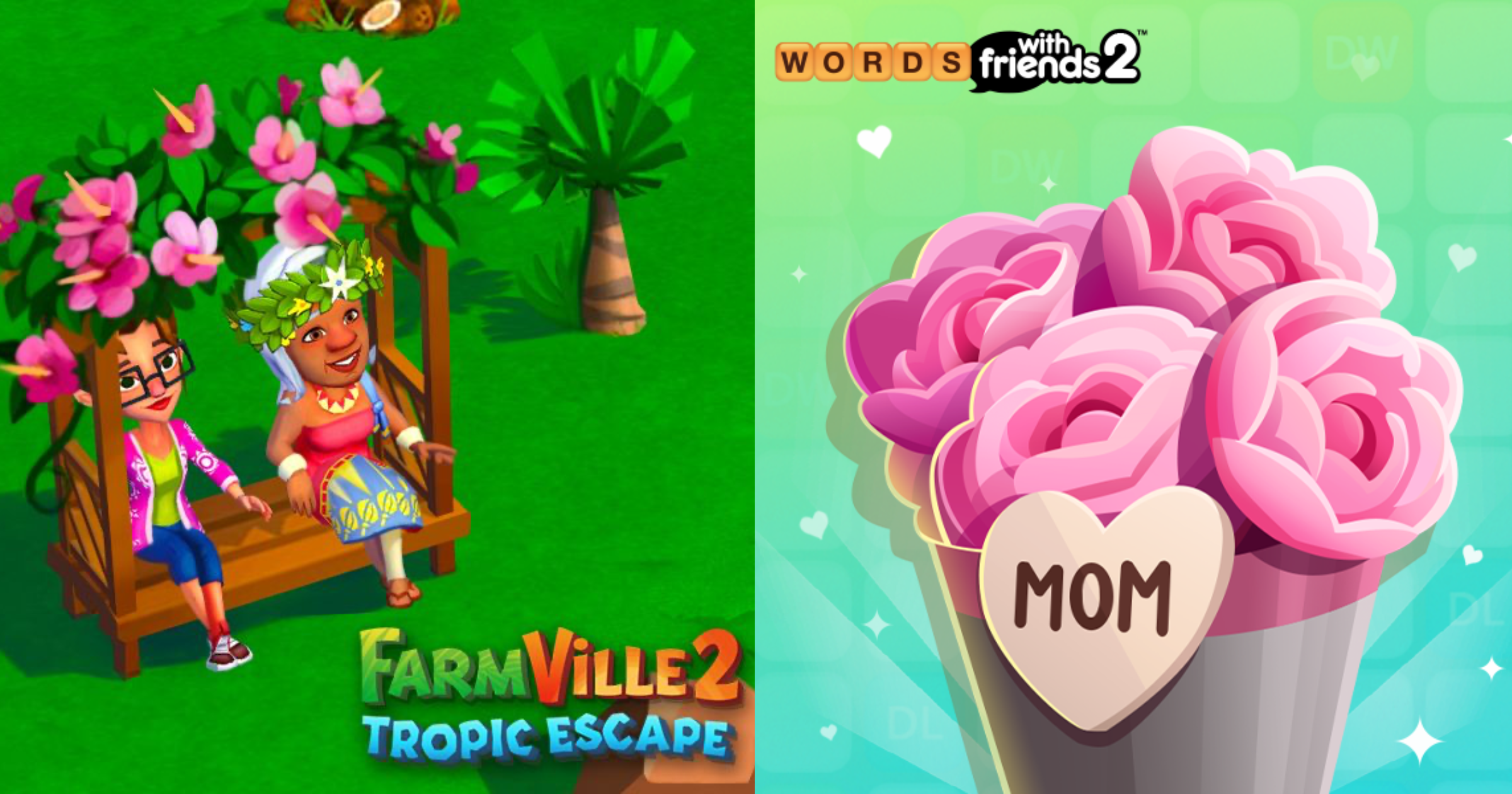 Zynga Games Mother's Day