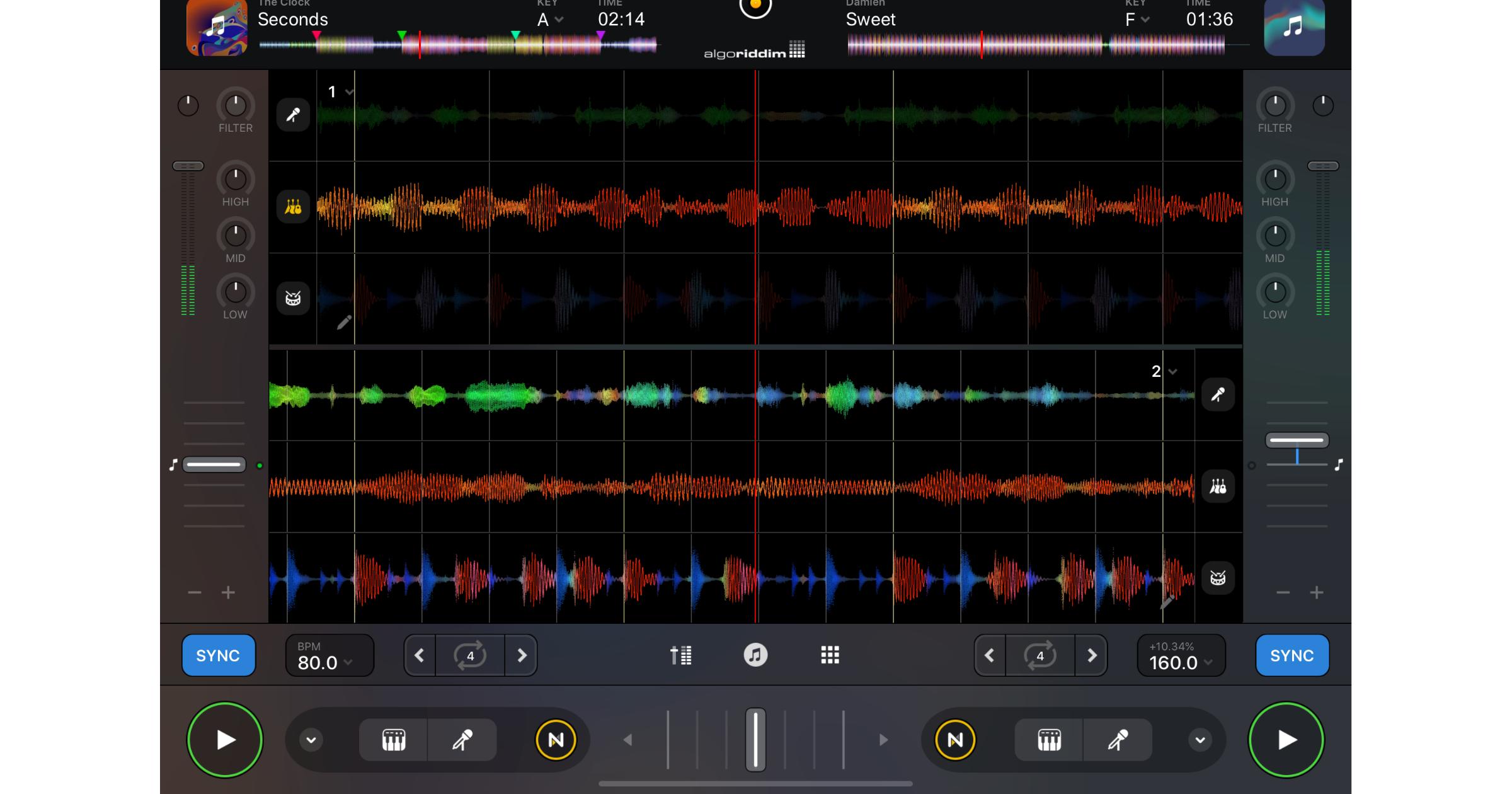 djay Pro AI Neural Mix