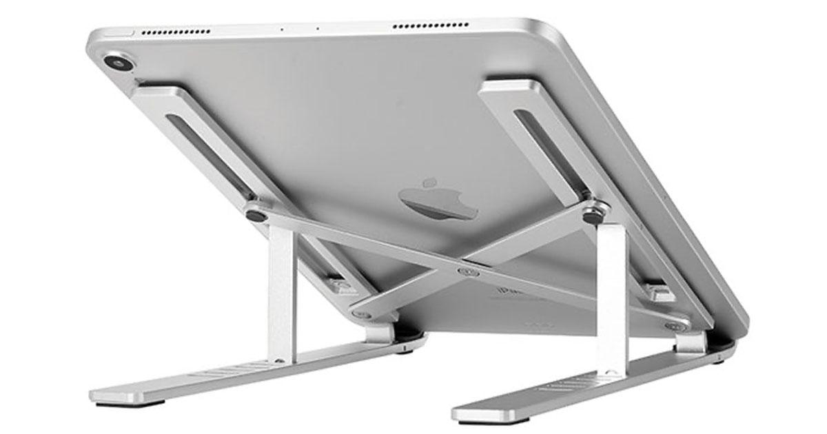 Foldable Flat Metal Laptop Stand