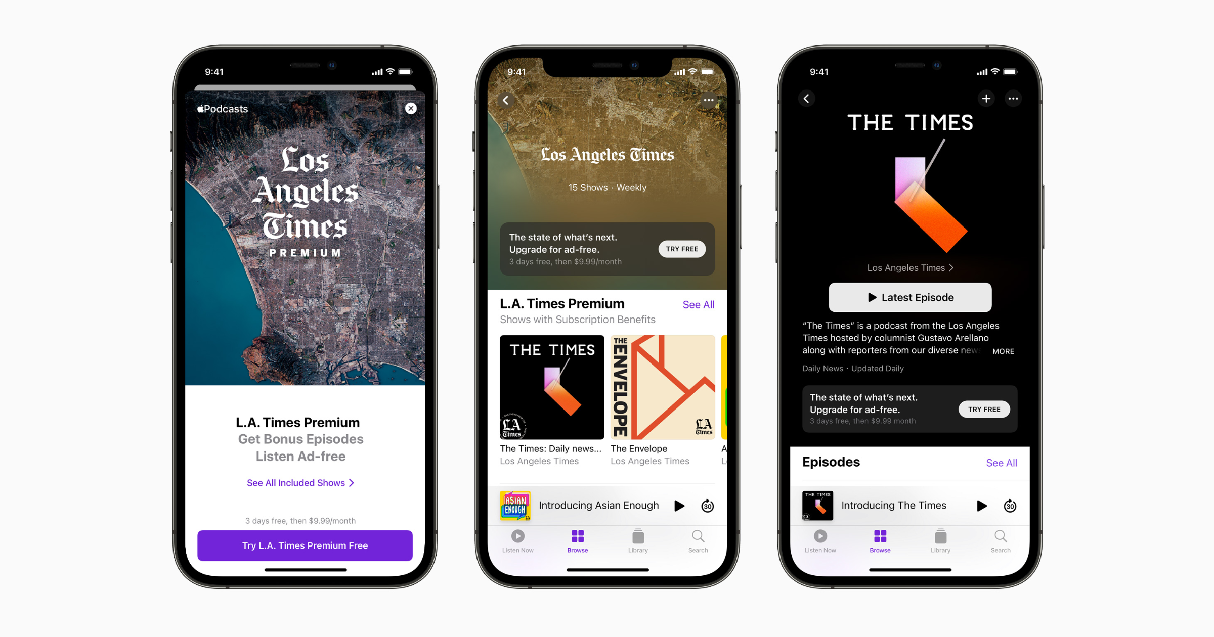 Apple Podcast Subscriptions and channels