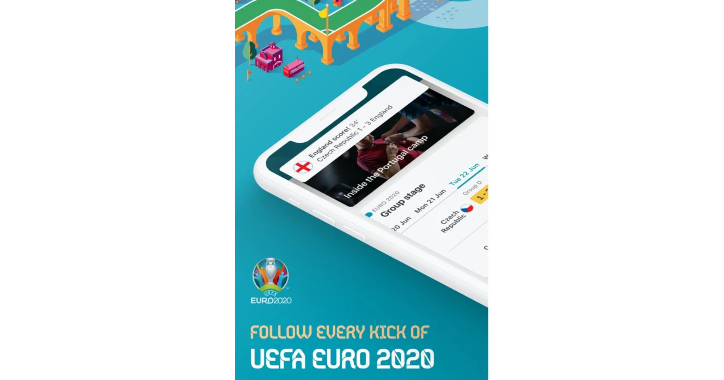 Euro 2020 iPhone app