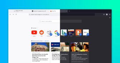 Firefox browser version 89