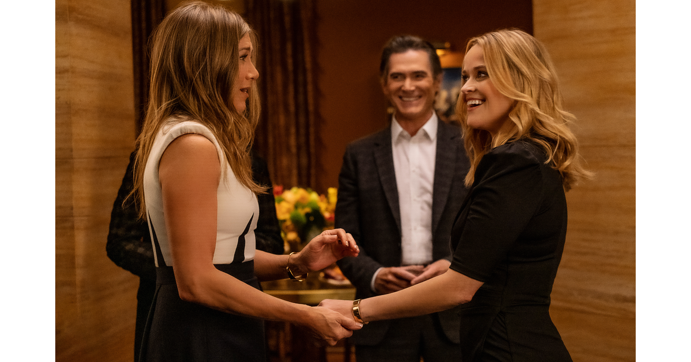 Jennifer Aniston Reese Witherspoon Billy Crudup The Morning Show Apple TV+