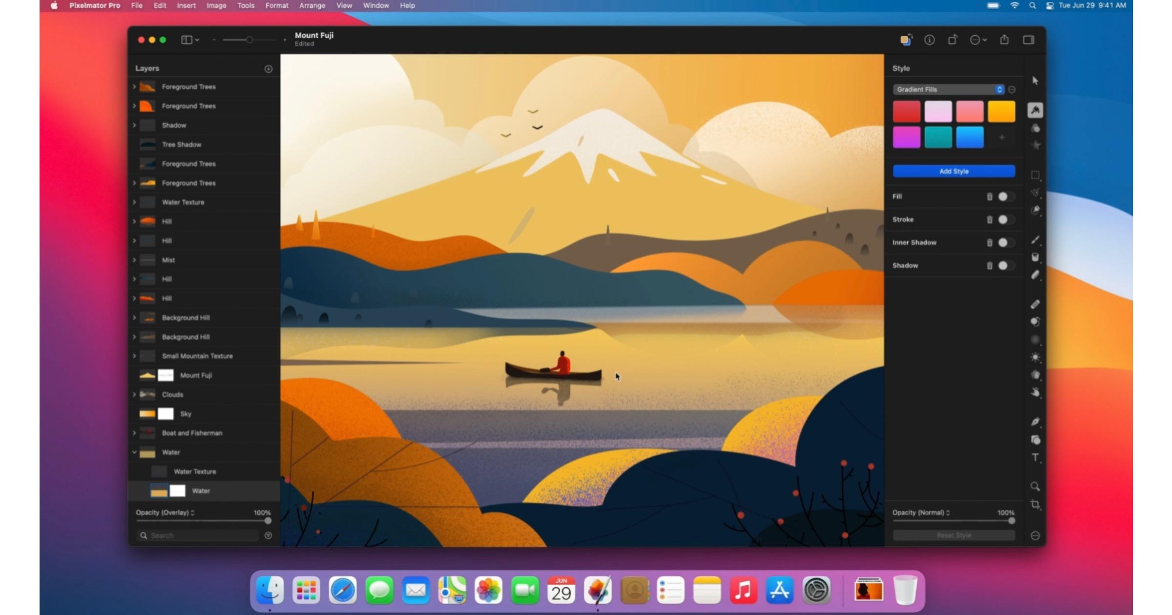 Pixelmator pro 2.1 update