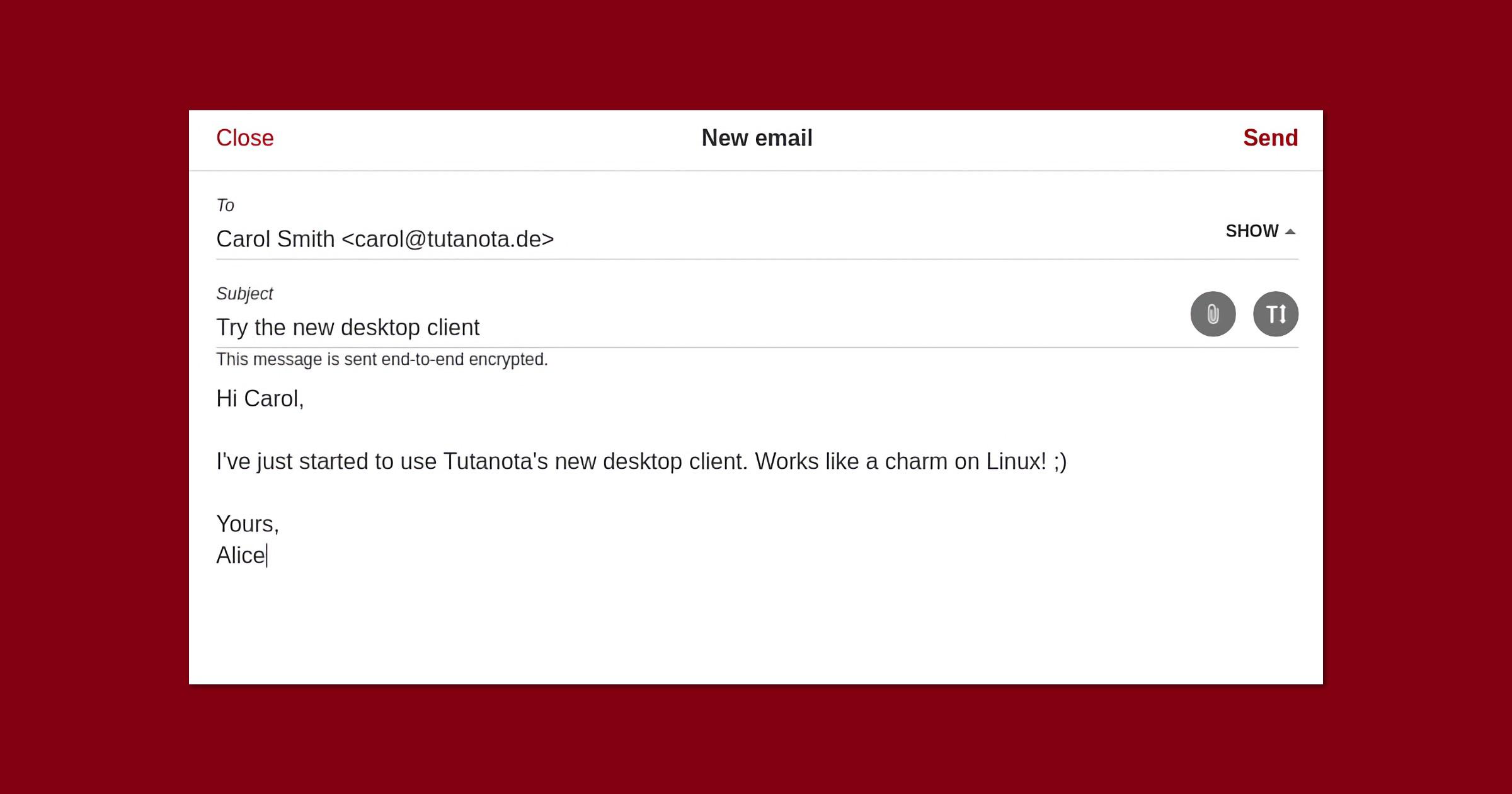Tutanota desktop apps exit beta