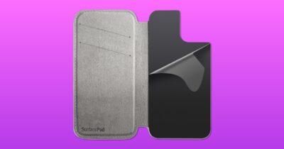 Twelve south SurfacePad magsafe wallet